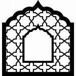 Icon Frame Window Arabic Arabesque Ornament Islam