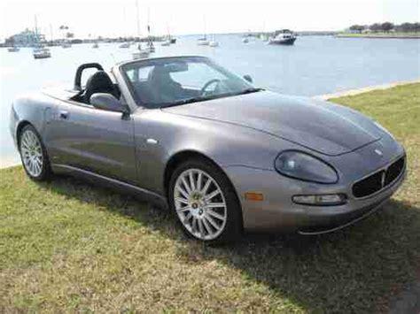 Purchase Used 2002 Maserati Spyder Convertible Cambiocorsa