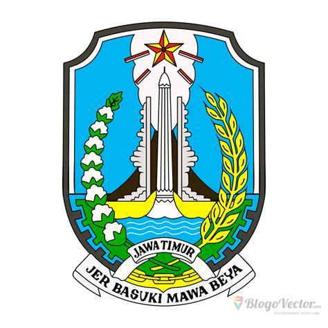 provinsi jawa timur logo vector cdr blogovector