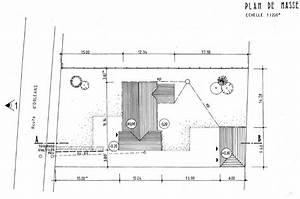 vues exterieures de la maison notre projet maison With plan de masse garage