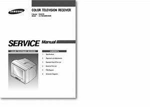 Diagrama  Manual Samsung Cl21m16mn Ks9a