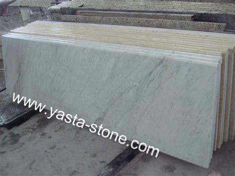 white marble countertops vanity tops thresholds