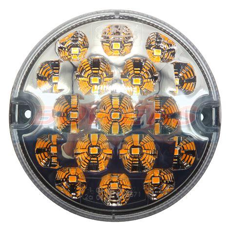 land rover defender nas style 95mm clear led indicator l light upgrade 12v 24v