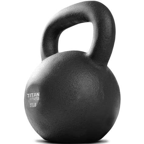 kettlebell weight swing lb titan iron workout fitness weights cast solid natural kettlebells