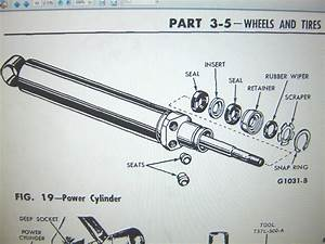 Anyone Have A Diagram For Rebuilding Power Steering Slave Cylinder