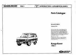 Range Rover Classic Parts Catalogue Pdf  65 4 Mb