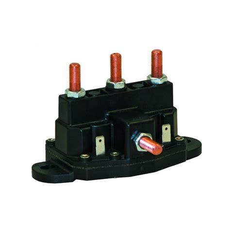 buyers 1306600 12v grounded motor reversing polarity solenoid 44 57