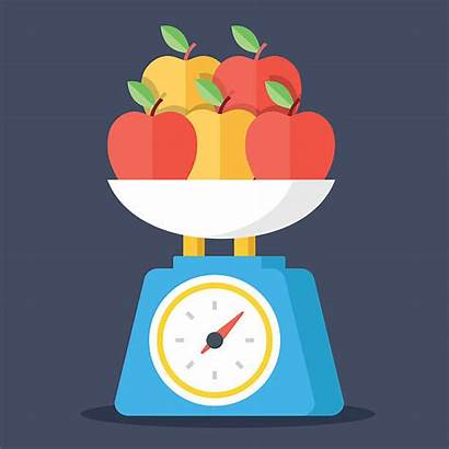 Kitchen Scale Scales Vector Clip Illustrations Similar