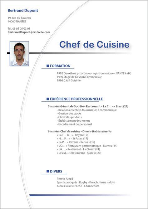 salaire chef de cuisine suisse exemple cv saisonnier création cv par cv facile