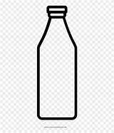 Milk Coloring Bottle Drawing Carton Printable Clipart Transparent Pages sketch template