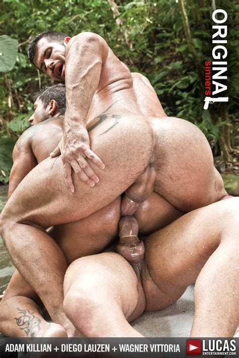 brazilian porn star diego lauzen gets double penetrated by adam killian and wagner vittoria in