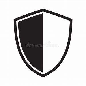 Shield Icon  Protection Icon  Sign Stock Vector