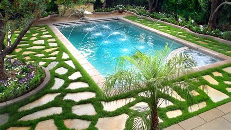 Swimming Pool Landscaping Ideas, Ideas For Beautiful