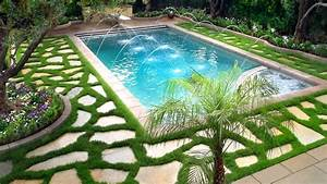 Swimming pool landscaping ideas ideas for beautiful for Swimming pool and landscape designs