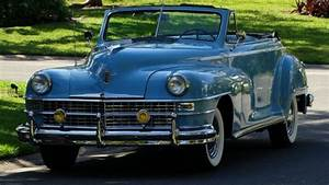 1948 Chrysler Windsor Convertible Excellent Condition