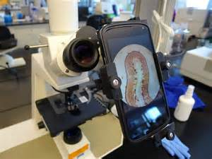 Microscope Camera Adapter for Cell Phone