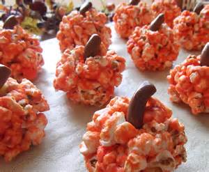 Popcorn for Halloween Party Food Ideas