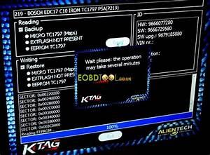 How Ktag Eu Clone Read Bosch Edc17c10 Tricore Psa Peugeot
