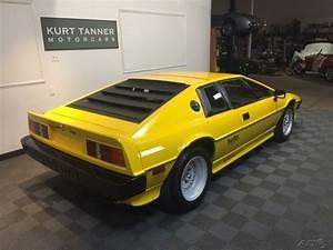1983 Lotus Esprit Turbo  Yellow With Black Leather Trim  2