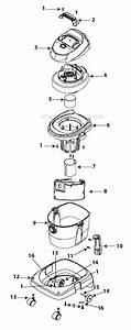 Shop-vac K250 Parts List And Diagram