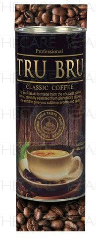 Coffee & tea, breakfast & brunch. Tru Bru Professional Coffee 475gm 1's