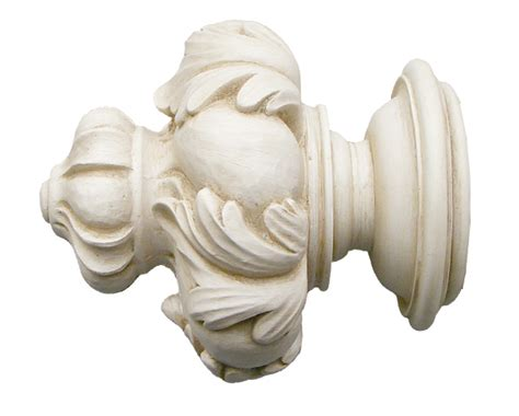 house parts royal crown finial for 2 1 4 inch drapery rods