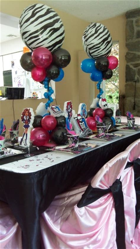 Super Creepy (and Awesome!) Monster High Party Ideas