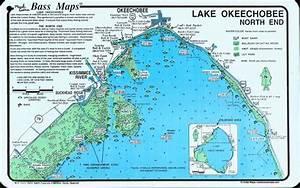 lake okeechobee map | Lake Okeechobee North (North End ...