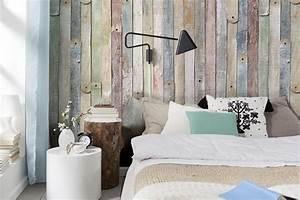 Wandgestaltung Vintage Look : wandgestaltung schlafzimmer ideen 40 coole wandfarben ~ Lizthompson.info Haus und Dekorationen