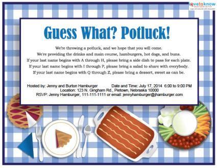 free potluck template printable potluck invitations lovetoknow