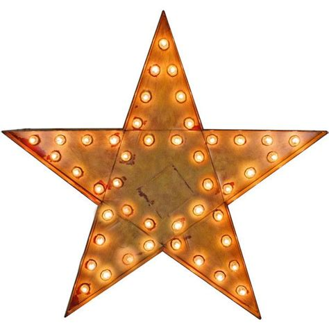 giant lighted flashing star sign circa 1955 liked on