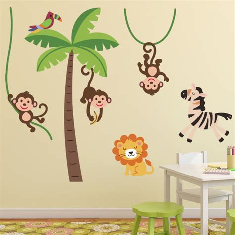 stickers muraux chambre best stickers chambre bebe garcon jungle photos amazing