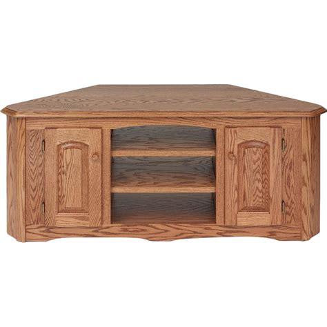 wooden corner tv cabinet solid wood oak country corner tv stand w cabinet 55
