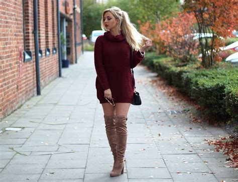 55 Ideas Of Outfit To Wear With Knee High Boots