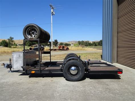 Vintage Race Trailer, For Midget Or Other Small Type