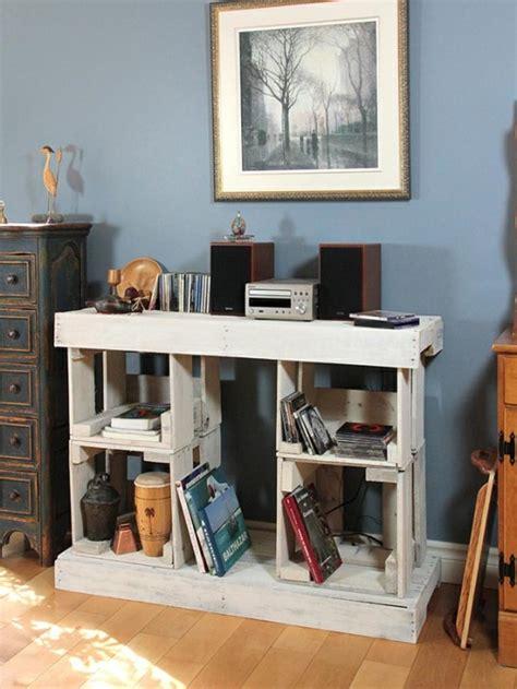 fabriquer un bureau en palette simple les palettes de bois sont idales pour fabriquer du