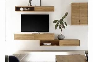 Tiroir Suspendu Ikea : meuble tv suspendu en bois massif filigrame hellin ~ Melissatoandfro.com Idées de Décoration