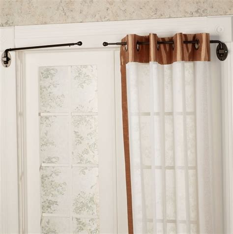 types of curtain rods for doors home design ideas