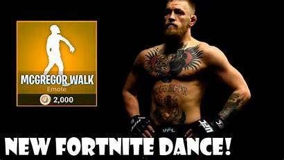 Mcgregor Fortnite Walk Conor Dances Idea