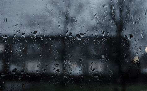 mi good  stay home dark rainy window wallpaper