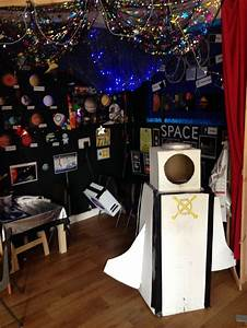 Space Station/Rocket role play area in Reception | hey ...
