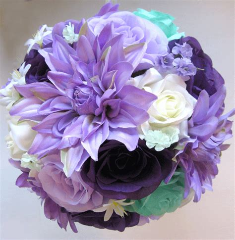 Purple Lavender Dark Mint Cream  Roses And Dreams