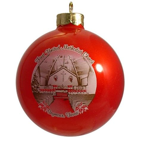 christmas fundraising ornament for united methodist church