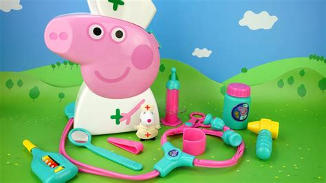 Peppa Pig. Developing Cartoon. Tools Doctor. For Children