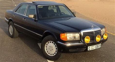 lifted mercedes sedan coolest benz ever desert spec 1991 mercedes 300se goes up