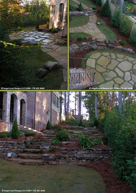 sloping yard solutions 1000 images about sloped yard ideas on pinterest