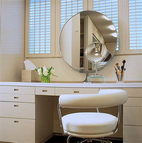 bathroom makeup vanity chair more makeup organizer ideas for a tidy display of