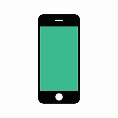 Phone Icon Cell Icons Website Vectorified Mobiles