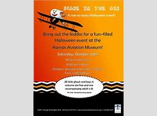 Kansas Aviation Museum familyfriendly Halloween event
