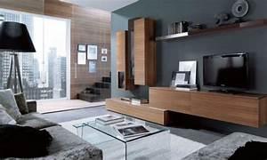 Meuble Tele Moderne : 35 id es pour le meuble t l design moderne ~ Teatrodelosmanantiales.com Idées de Décoration